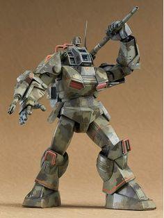 Max Factory Combat Arms Max EX-02 1/72 Scale Combat Armor Series Fang of the Sun Dougram Model Kit, Toyarena