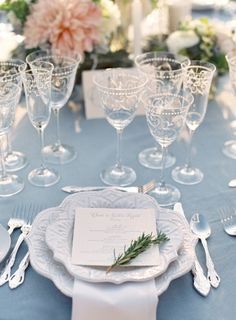 Garden party chic: http://www.stylemepretty.com/2014/07/17/al-fresco-elegance-at-cal-a-vie/ | Photography: Jose Villa Photography - http://josevillaphoto.com/