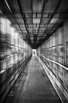 Covered Walkway at Construction Site H Street NE by NelsonRietzke, $140.00