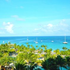 View from the Radisson Resort in Aruba! The ultimate vacation destination!