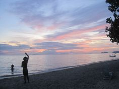 Koh Phangan Koh Phangan, Thailand, Celestial, Sunset, Outdoor, Outdoors, Sunsets, Outdoor Games, The Great Outdoors