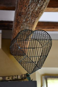 heart # bird cage # www.cabiancadellabbadessa.it # italian countriside # italian farm house #