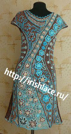 "Платье ""Рапсодия"" ирландское кружево Vsco, Irish Lace, Formal Dresses, Knitting, Sweaters, Angles, Tops, 1, Handmade"