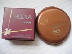 Beeeutybloggers: Review and comparison: Benefits Hoola Bronzer vs. NYC sunny bronzer