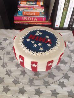 Amerikaanse vlag taart Cupcakes, India, Homemade, Orlando, Sweet, Desserts, American, Food, Cupcake
