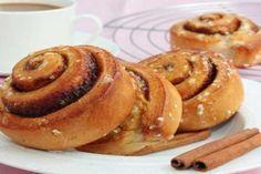Deliciosos rollos de canela libres de gluten