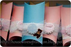 pillowbox baby card