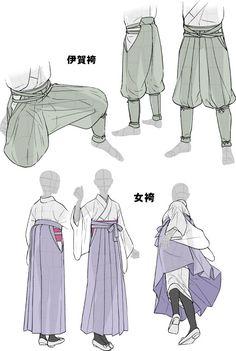 「着物をそれっぽく描くポイント」 [16]