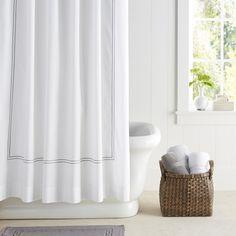 Hotel Shower Curtain   Williams-Sonoma