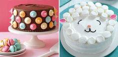 4 unglaublich einfache Deko-Ideen für Kuchen