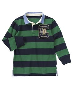Stripe Rugby Shirt from Crazy8 on Catalog Spree, my personal digital mall.