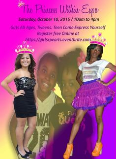 The Princess Within Expo Oct 10 Vendor & Sponsor oppty https://girlsrpearls.eventbrite.com