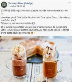 Journée internationale du café Tommy's Diner Chai Latte