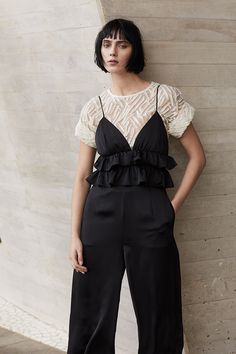 Jumpsuit is a trendy choice for a summer party. Jumpsuit, Party, Summer, Outfits, Dresses, Style, Fashion, Overalls, Vestidos