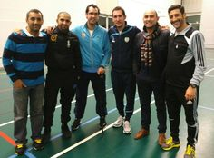 Photo de mes amis coachs de Futsal