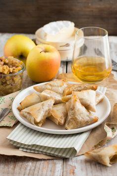 Samoussas aux pommes et camembert - recette par Chic Chic Chocolat