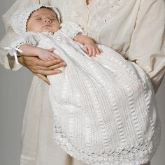 Heirloom Baby Set christening baptism dress gown