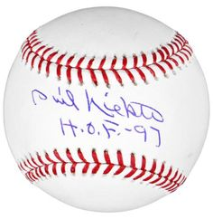 Phil Niekro Autographed Baseball w/ HOF 97 Inscription - PSA/DNA - Sports Memorabilia