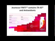 Jeunesse Finiti contains TA-65 ,   antioxidants, Stem Cells Telomeres Jeunesse Global www.stemceltechnologie.com