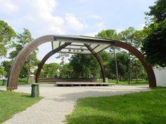 Image result for parco hemingway lignano Garden Bridge, Arch, Outdoor Structures, Places, Image, Arches, Bow, Lugares, Belt
