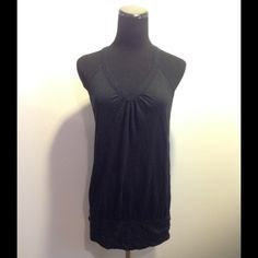 American Eagle Black Tank Worn once! American Eagle Outfitters Tops Tank Tops