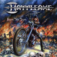 "BATTLEAXE - NWoBHM cult album ""Burn This Town"" re-release -"