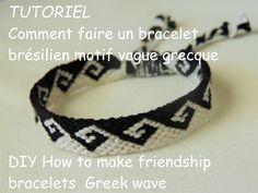 le motif vague grecque est facile à réaliser lorsque l'on maitrise ce motif....je vous conseille au départ de bien suivre le tressage les différents nœuds et...