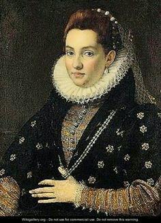 Lucrezia Tomacelli, di Scipione Pulzone