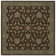 Found it at Joss & Main - Ciara Brown Oriental Wool Hand-Tufted Area Rug