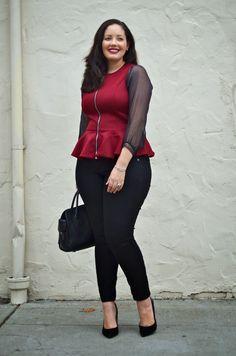 Всем доброго времени суток ! Сегодня я бы хотела поделиться с вами , моими любимыми Plus Size Fashion Blogger .