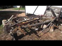 Restoring horse-drawn vehicles of the American Wes. Coach Shop, Wooden Wagon, Shops, Horse Drawn, Woodworking, Projects, Youtube, Log Projects, Tents