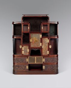 Herter Brothers (1864–1906). Cabinet, 1879–82. The Metropolitan Museum of Art, New York. Gift of Barrie A. and Deedee Wigmore, 2014 (2014.530.2)