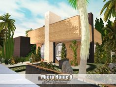Micro Home 6 by Pralinesims - Sims 3 Downloads CC Caboodle
