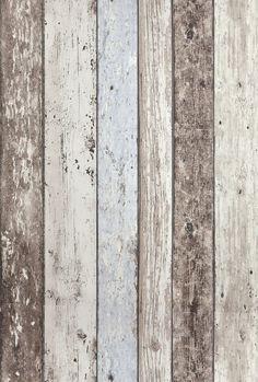 Dutch Wallcoverings Vliesbehang Sloophout Beige van Formido