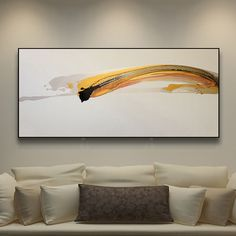 客厅原创装饰画油画抽象画简约现代写意高档手绘挂画舞动线条热卖
