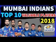 IPL Auction 2018  Mumbai Indians Top 10 Cricketers Highest Price IPL 201...