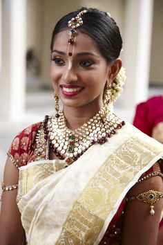 South Indian Bride  www.weddingsonline.in