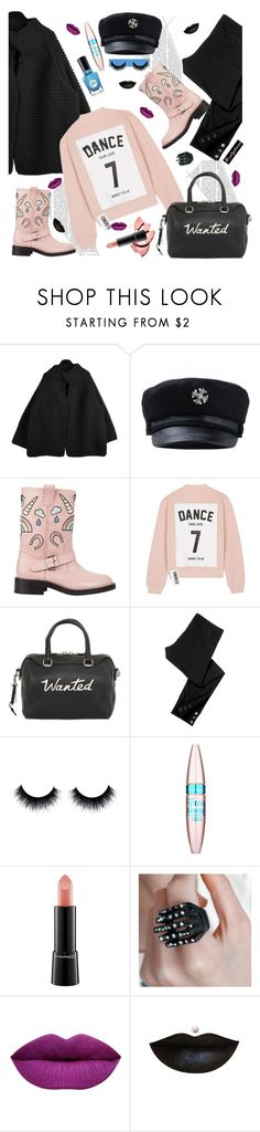"""Chunky Knits Cardigan"" by paculi ❤ liked on Polyvore featuring Minna Parikka, Studio Concrete, Coach, Juicy Couture, Sally Hansen, Maybelline, MAC Cosmetics, Anastasia Beverly Hills and nastydress"