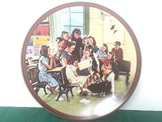 The Story Hour Norman Rockwell The Ones We Love Series COA Knowles Plate #NormanRockwell #TheOnesWeLove