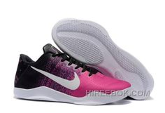 dd8dc4e7768 Nike Kobe 11 Black Think Pink-White Mens Basketball Shoes Lastest