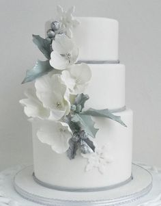 Perfect Winter Wedding Cake Ideas-1