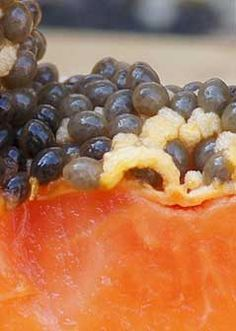 Eat pawpaw seeds for digestive health aka papaya #Amazmerizing