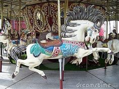 Free Pictures Of Carousel Horses | Royalty Free Stock Photos: Old Carousel Horse