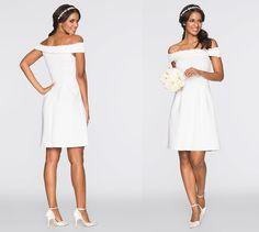 Bon Prix biała sukienka na ślub i wesele #suknia #sukniaślubna #wedding #weddingdress #ślub #wesele