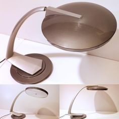 Boomerang, Info, Vintage Industrial, Industrial Furniture, Desk Lamp