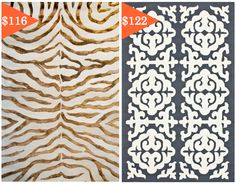 Beautiful rugs for under $200