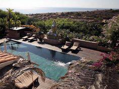 Casa Gazebo, Ibiza, swimming pool birdview http://www.thefeel.org/
