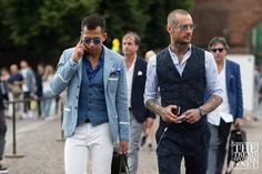 The men of Pitti dished up the street style goods once again this week. See the best looks captured at Pitti Uomo Spring/Summer 2017 on