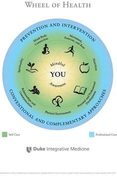 Wheel of Health - Duke Integrative Medicine