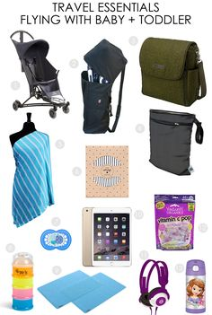 Travel Essentials for Flying with Baby and Toddler - Project Nursery